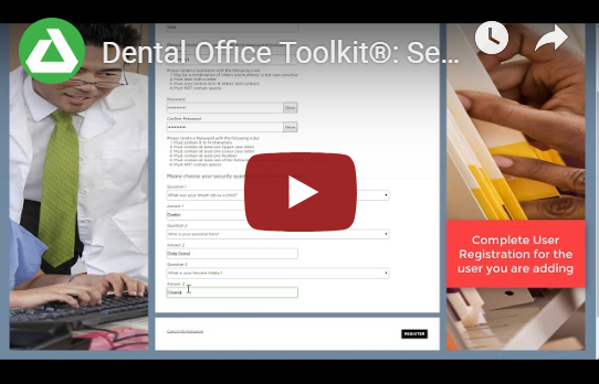 Dental Office Toolkit Resources